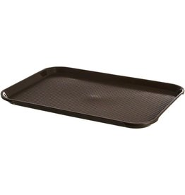 "Thunder Group Food Tray, Brown, 12"" x 16-1/4"""