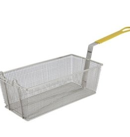 "Winco Fryer Basket, 17"" x 8-1/4"" x 6"""