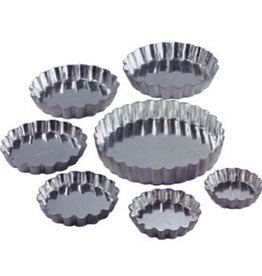 "Allied Metal Tart Pan, 3-1/8"" x 3/8"""