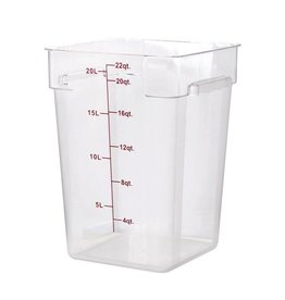 Thunder Group Food Storage Container, 22 Qt