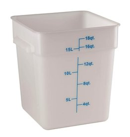 Thunder Group Food Storage Container, 18 Qt