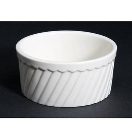CAC Souffle Bowl, Fluted, 12 oz (3 Doz)