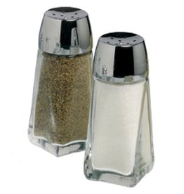 Europe Imports Salt & Pepper Shaker, Glass, 2 oz