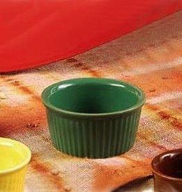 CAC Ramekins, Green, 3 oz (4 Doz)