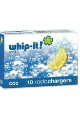 United Brands Soda Siphon Chargers, C02, 10 Pack