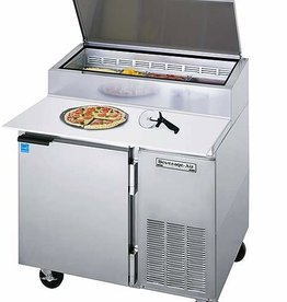 Beverage Air Pizza Top Refrigerated Counter, 1 Section, 16.7 cu. ft.