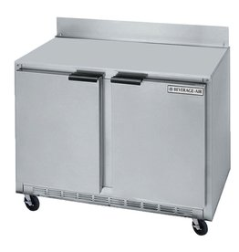 "Beverage Air Worktop Refreierator, 2 Section, 36"", 8.5 cu. ft."