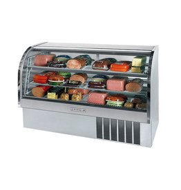 "Beverage Air Refrigerated Display Case, 73"", 27.6 cu. ft."