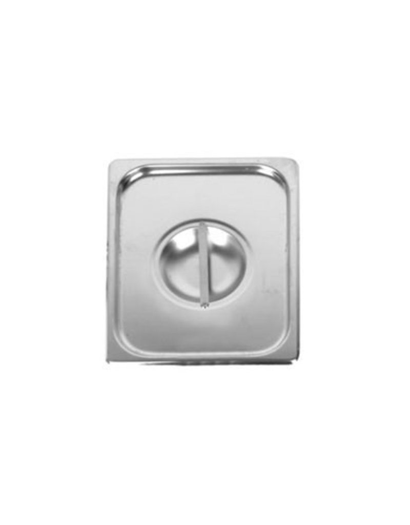Thunder Group Steam Table Pan Cover, S/S, 1/6 Size