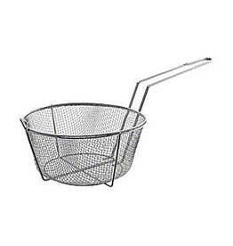 "Update International Fryer Basket, Nickel Pltd, 11-1/2"" Dia"
