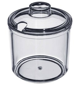 Update International Plastic Condiment Jar w/Lid, 7 oz