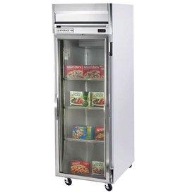 Beverage Air Reach-In Freezer, 1 Section, Glass Door, 24 cu.ft.
