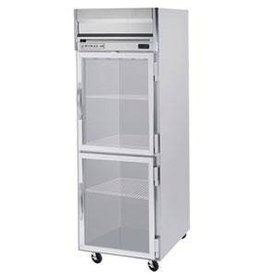 Beverage Air Reach-In Freezer, 1 Section, Glass Doors, 24 cu.ft.