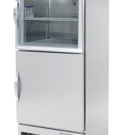 Beverage Air Pass-Thru Refrigerator, 1 Sect., Glass/Solid Door, 18.0 cu. ft.