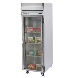 Beverage Air Reach-In Freezer, 1 Sect, Glass Door, 23 cu. ft.