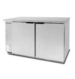 "Beverage Air Refrigerated Backbar Storage, 48""x34"", Solid Doors"