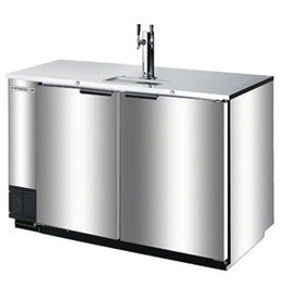 "Beverage Air Draft Beer Cooler, 50.5""W, 28-1/8""D, 19.8 cu.ft"