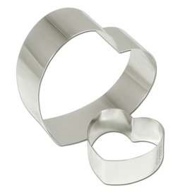 "Fat Daddio's Cake Ring, S/S, 2-1/2"" x 2-1/2 x 1-3/8"""