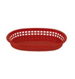 "Thunder Group Basket, Red, 10-3/4"" Long"