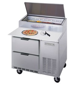 "Beverage Air Pizza Prep Table, 46"", 16.7 cu.ft."