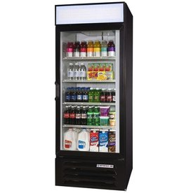 Beverage Air Refrigerated Merchandiser, 1 Sect., 27 cu.ft.
