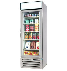 Beverage Air Refrigerated Merchandiser, 1 Sect., 23 cu.ft