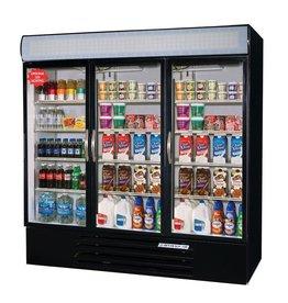 Beverage Air Refrigerated Merchandiser, 3 Sect., 72 cu.ft.