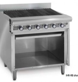 Imperial Char-Broiler, w/Storage Base, 36""