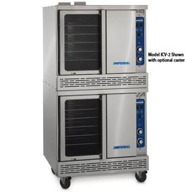 "Imperial Convection Oven, Double, Bakery Depth, 38""W"
