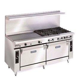"""Imperial Range, (4) Burners, 48"""" Griddle, (2) Ovens, 72"""""""