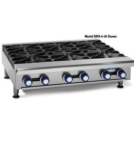 "Imperial Gas Hot Plate, (8) Burners, 48""W"
