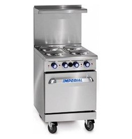 """Imperial Electrice Range, (4) Plates, 20"""" Oven, 24"""""""
