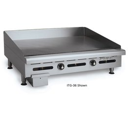 """Imperial Electric Countertop Griddle, (2) Burners, 24"""""""