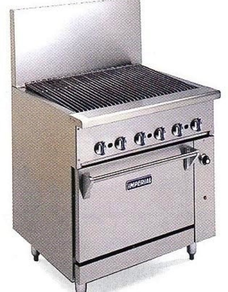 """Imperial Radiant Broiler, 24"""", (1) 20"""" Oven"""