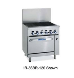 "Imperial Broiler, 36"", (1) Cabinet Base"