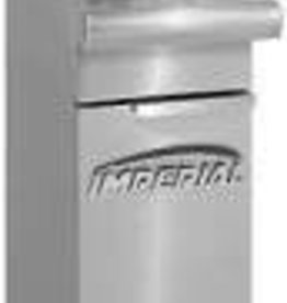 Imperial Fryer, 25 lbs Capacity, S/S Tube Fired Fry Pot