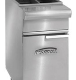Imperial Fryer, (2) 25 lbs Capacity, S/S Tube Fired Fry Pot