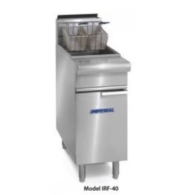 Imperial Fryer, 40 lbs Capacity, S/S Tube Fired Fry Pot
