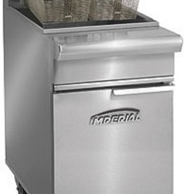 Imperial Fryer, 75 lbs Capacity, S/S Tube Fired Fry Pot
