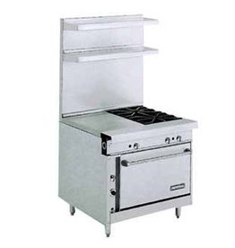 "Imperial Range, (2) Burners, 18"" Oven, 36"""