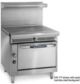 """Imperial Range, (2) 18"""" French Tops, (1) Conv., Oven, 36"""""""