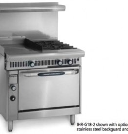 """Imperial Range, 24"""" Griddle w/Thermostat, (2) Burners, (1) Oven, 36"""""""