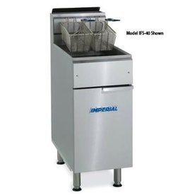 Imperial Add-A-Fryer, 1/2 Size, S/S Frypot
