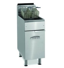 Imperial Deep Fryer, Gas, 40lb