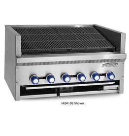 Imperial Counter Top Broiler, (6) Burners, 36""
