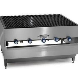 "Imperial Chicken Broiler, (5) Burners, 48""W x 36""D"