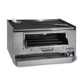 "Imperial Counter Top Mesquite Wood Broiler, 60""W x 27""D"
