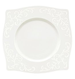 """Lenox Square Accent Plate, LENOX, """"Opal Innocence Carved"""", 9"""" (20 Pcs)"""
