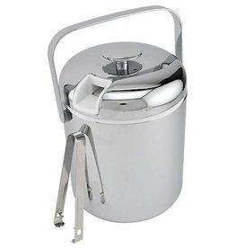 Update International Ice Bucket, Chrome Pltd, 40-1/2 oz