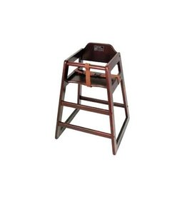 Thunder Group High Chair, Walnut